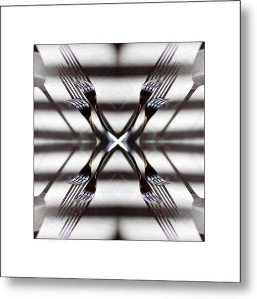 The Forks Metal Print by Don Powers