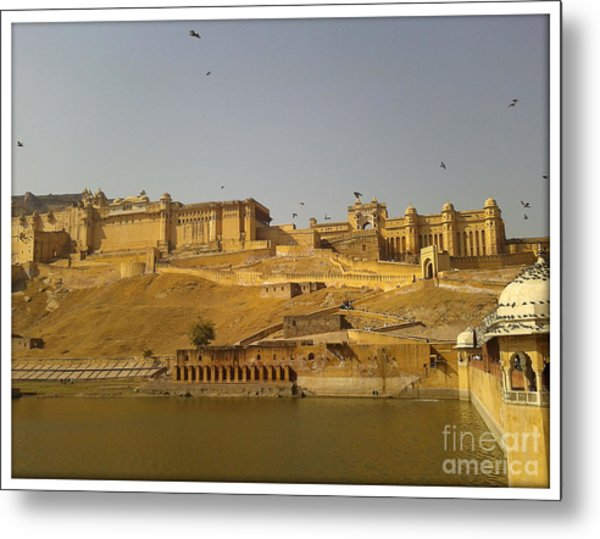 The Fort  Metal Print by Ankit Garg