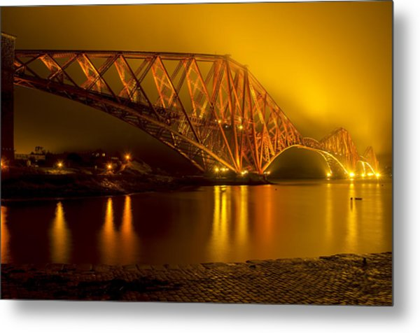 The Forth Bridge From North Queensferry Metal Print