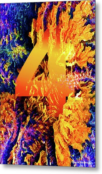 The Four Of Creation Metal Print