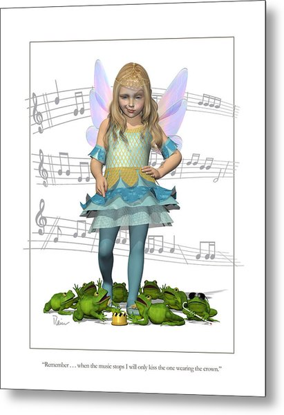 The Frog Princess Metal Print