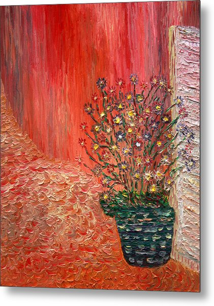 The Front Porch Metal Print