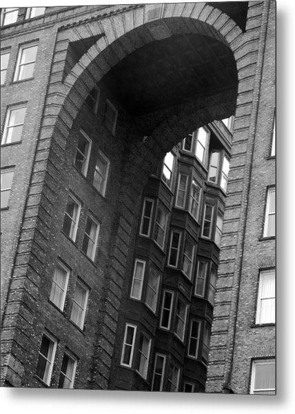 The Fulton Building Metal Print