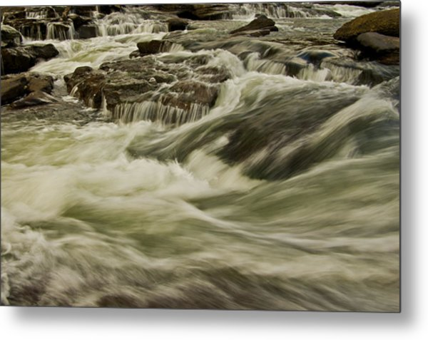 The Furry Of The River..... Metal Print