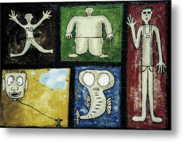 The Gang Of Five Metal Print