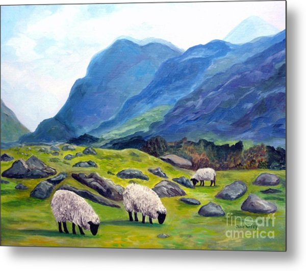The Gap Of Dunloe Kilarney Ireland Metal Print