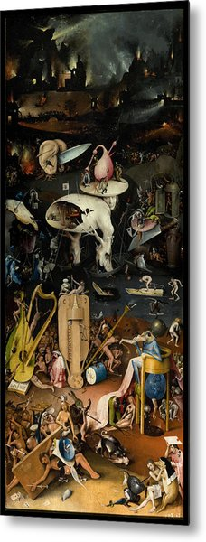 The Garden Of Earthly Delights. Right Panel Metal Print