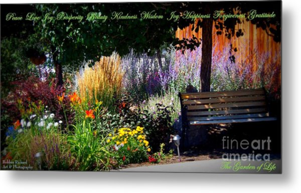 The Garden Of Life Metal Print