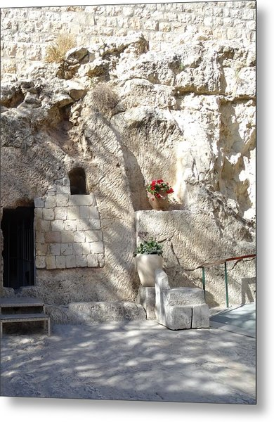 The Garden Tomb  In Jerusalem Metal Print