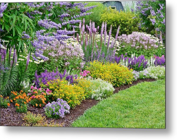 The Gardens Of Bethany Beach Metal Print