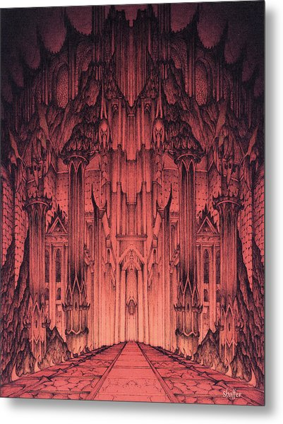The Gates Of Barad Dur Metal Print
