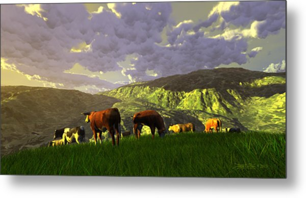 The Gentle Breed Metal Print