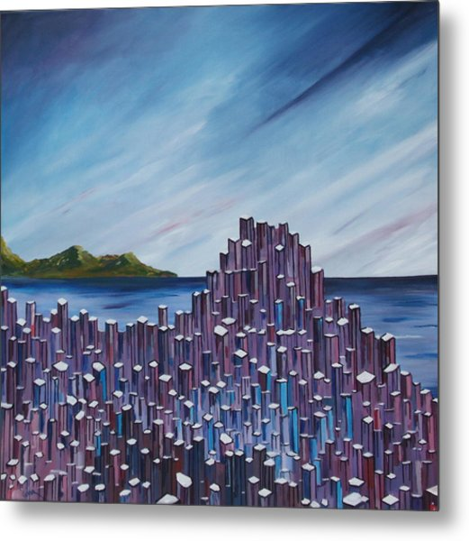 The Giant's Causeway Metal Print