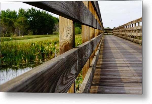 The Glades Metal Print by Kirk  Montgomery