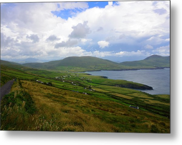 The Glen On St. Finians Bay Metal Print
