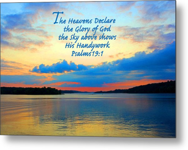 The Glory Of God Metal Print