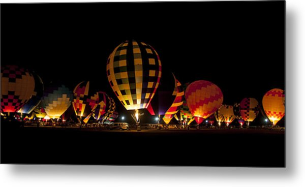 The Glow Metal Print by Danny Pickens