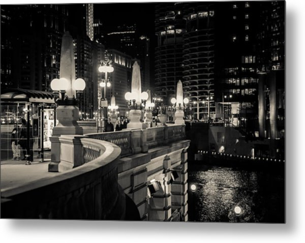 The Glow Over The River Metal Print