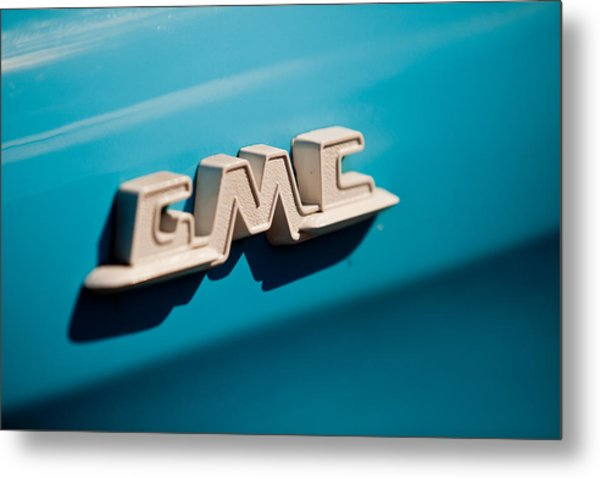 The Gmc Metal Print