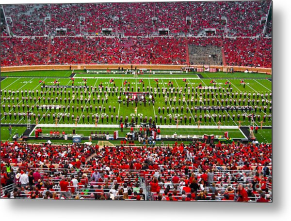 Metal Print featuring the photograph The Going Band From Raiderland by Mae Wertz