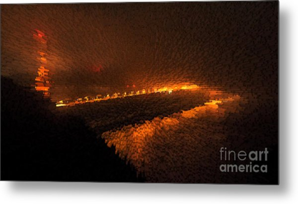 The Golden Gate Metal Print