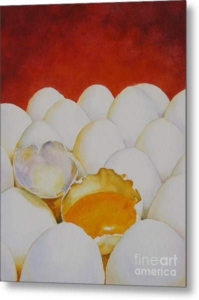 The Good Egg Metal Print