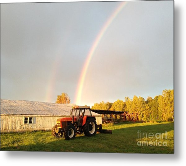The Good Life Metal Print