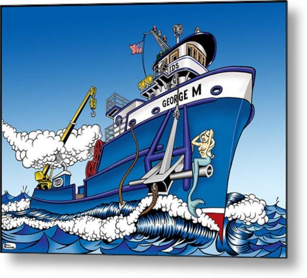The Good Ship George M. Metal Print