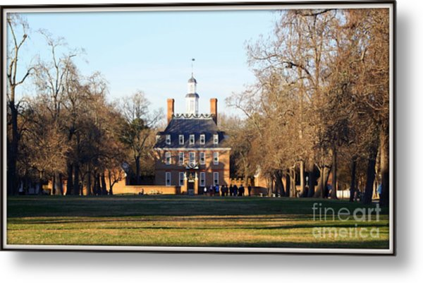 The Governor's Palace Metal Print