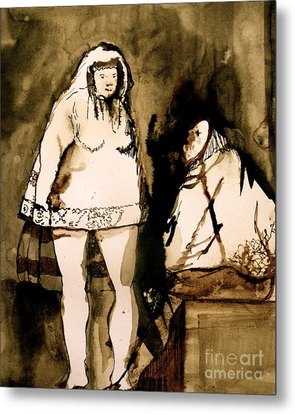 The Goya Sisters Metal Print by Jain McKay