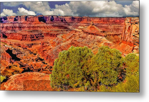 The Grand Canyon Dead Horse Point Metal Print