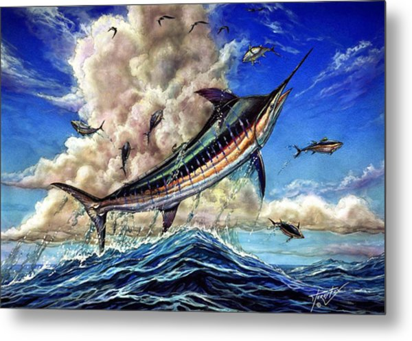 The Grand Challenge  Marlin Metal Print