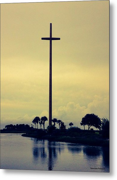 The Great Cross Metal Print