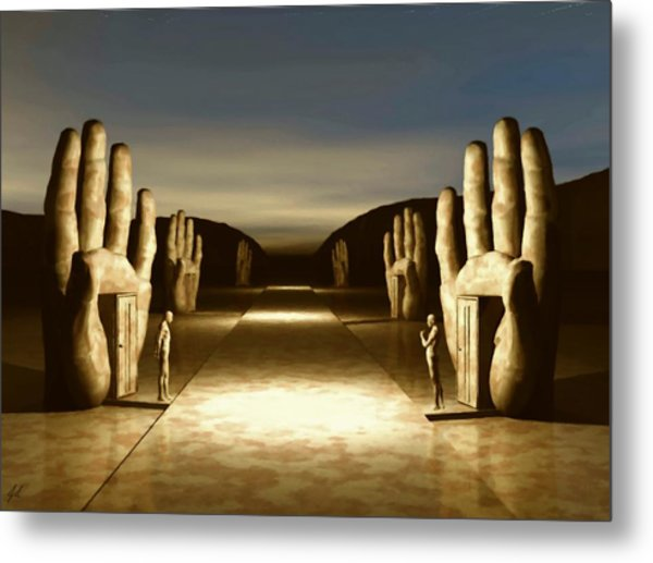 The Great Divide Metal Print