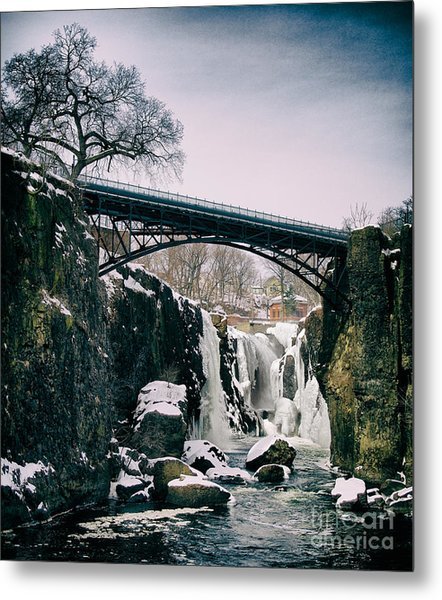 The Great Falls Of Paterson Metal Print