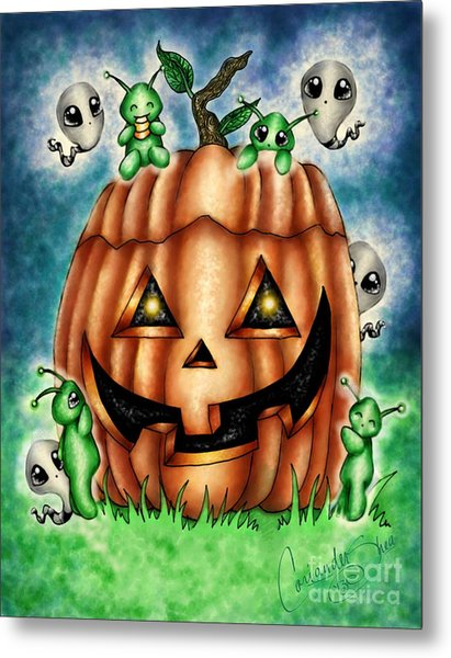 The Great Pumpkin Metal Print by Coriander  Shea