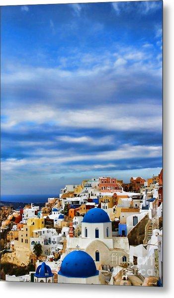 The Greek Isles-oia Metal Print