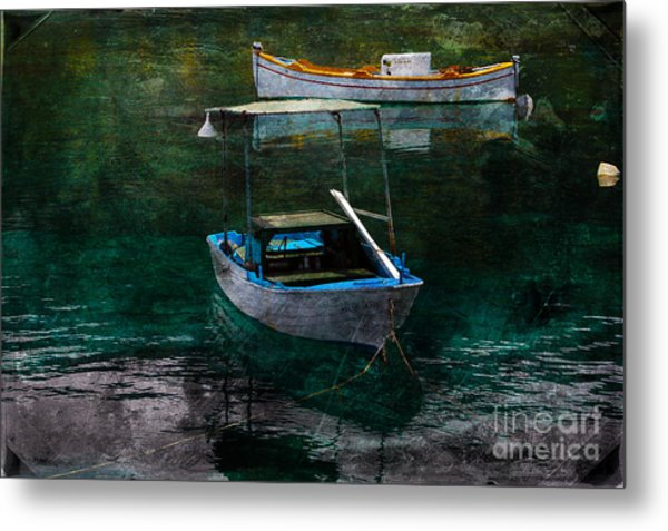 The Greek Way Metal Print