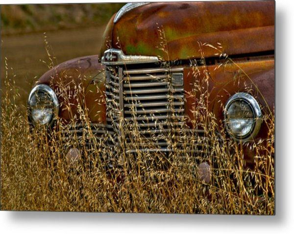 The Grill Metal Print