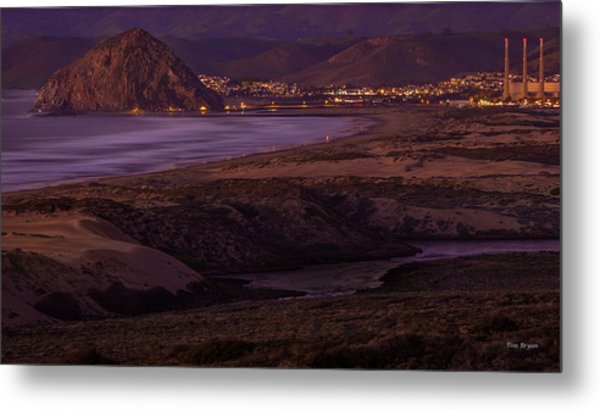 The Guardian--- Morro Bay Metal Print