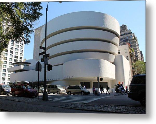 The Guggenheim Museum - New York Metal Print