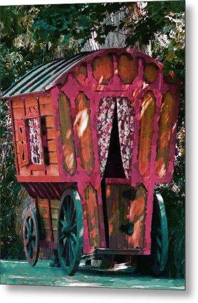 The Gypsy Caravan  Metal Print