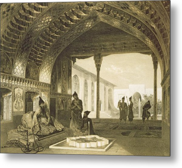 The Hall Of Mirrors In The Palace Metal Print