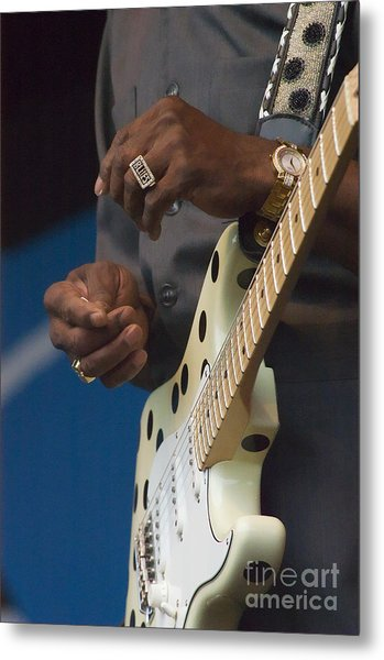 The Hands Of Buddy Guy Metal Print