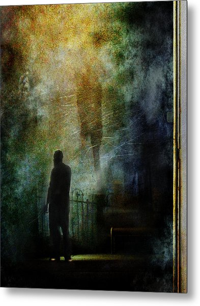 The Haunting Chill Metal Print