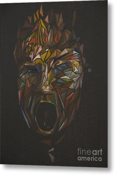 The Head Of Goliath - After Caravaggio Metal Print