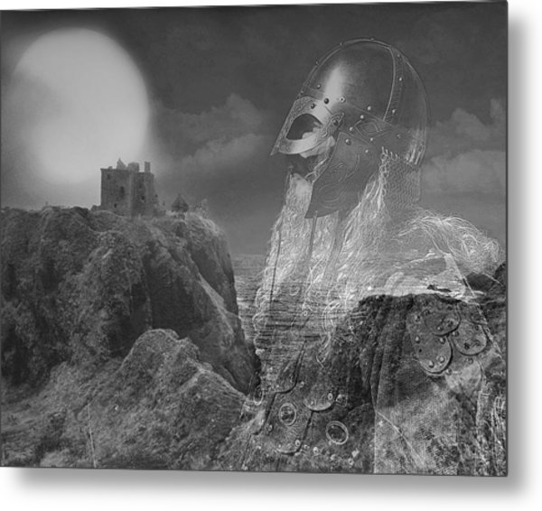 The Heart Of A Warrior Metal Print