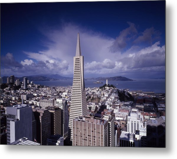 The Heart Of San Francisco Metal Print