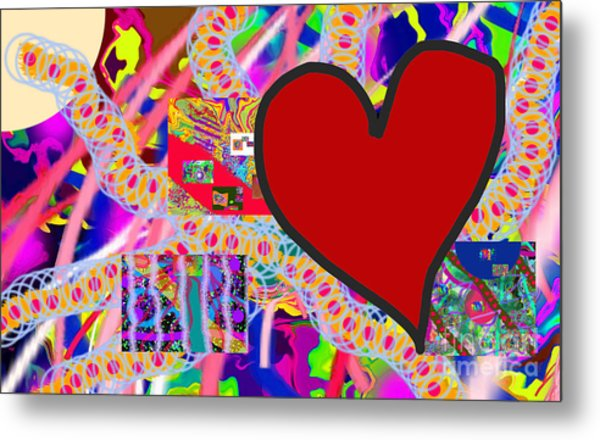 The Heart Of The Matter - Art Metal Print
