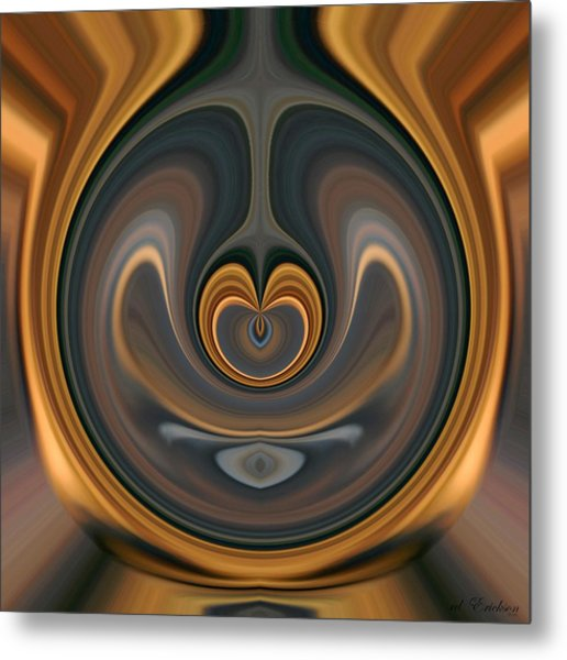 the Heart of Time Metal Print